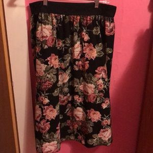 Lularoe Floral Fancy Lola Skirt